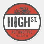 HSA Logo Round Stickers