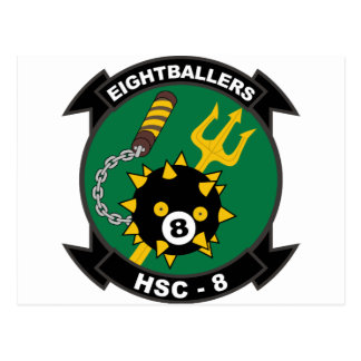 HSC - 8 Helicopter Sea Combat Squadron Postcard