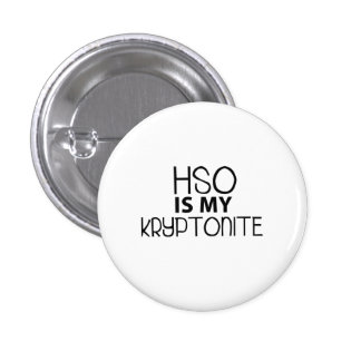HSO Kryptonite 3 Cm Round Badge