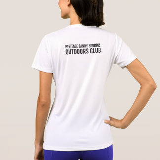 HSS Outdoors Club - Keep Calm and Hike On (ft/bk) T-Shirt