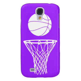 HTC Vivid Case-Mate Bball Silhouette Purple