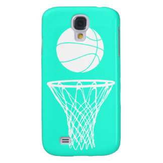 HTC Vivid Case-Mate Bball Silhouette Turquoise Galaxy S4 Cases