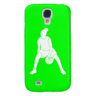 HTC Vivid Case-Mate Dribble Silhouette Green Galaxy S4 Cases