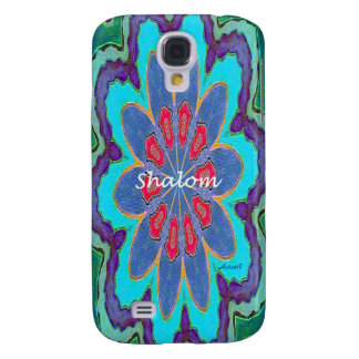 HTC Vivid Tough Case Shalom Mandala Samsung Galaxy S4 Case