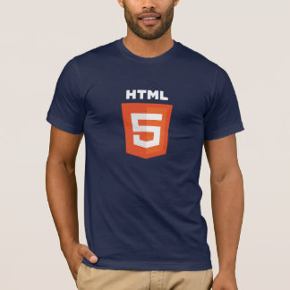 HTML5 Dark Blue T-Shirt