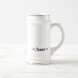 HTML <beer> Stein