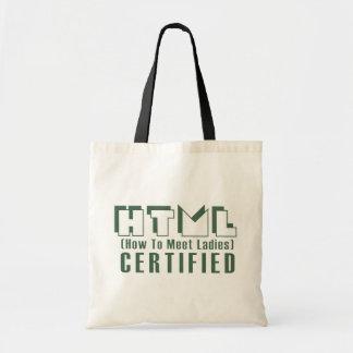 HTML Certified Ladies Canvas Bag