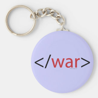 HTML End War Keychain