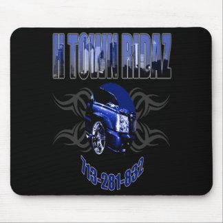 HTR Clothing - Blue Logo Mousepad