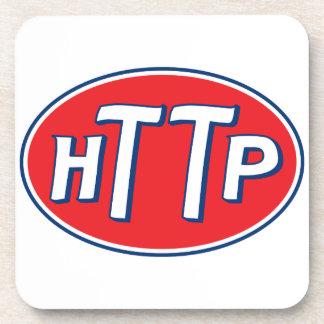 HTTP Webmaster Parody Logo Drink Coaster