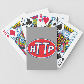 HTTP Webmaster Parody Logo Playing Cards