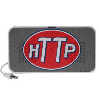 HTTP Webmaster Parody Logo Laptop Speakers