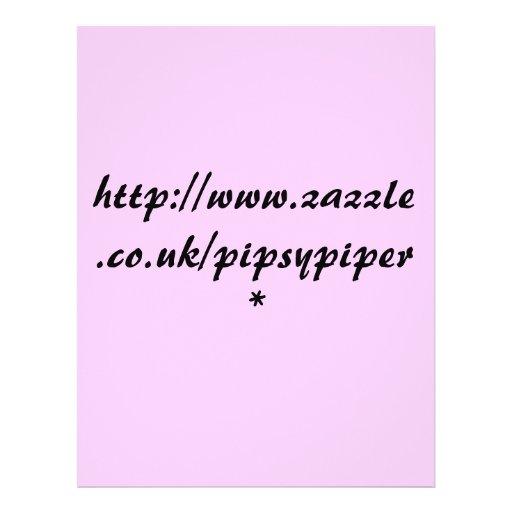 http://www.zazzle.co.uk/pipsypiper* flyer