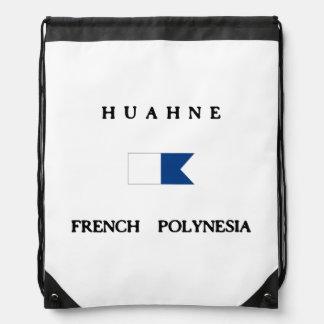 Huahne French Polynesia Drawstring Bag
