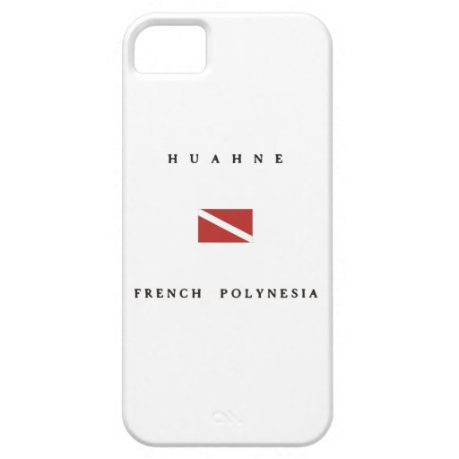Huahne French Polynesia Scuba Dive Flag iPhone 5 Covers