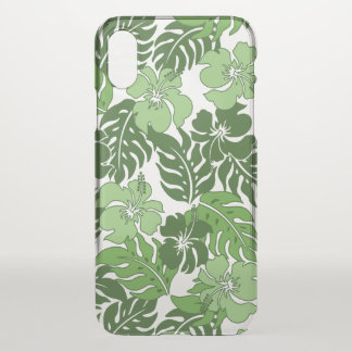 Huakini Bay Hawaiian Hibiscus Vintage Floral iPhone X Case