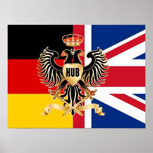 "Hub Federation Flag 16"" x 12""Poster Paper (Matte) Poster"