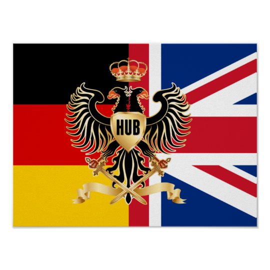 "Hub Federation Flag 16"" x 12""Poster Paper (Matte) Poster"