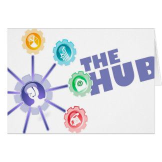 Hub of Communications - Happy Admin Pro Day Greeting Card