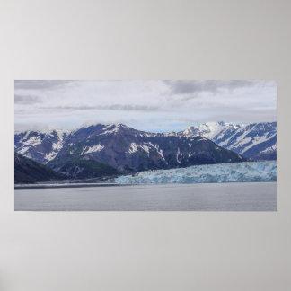 Hubbard Glacier Poster