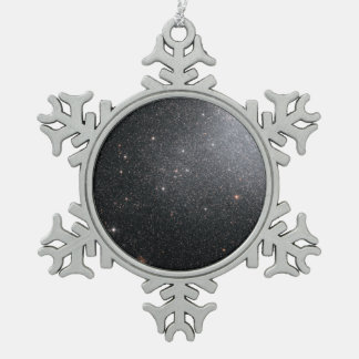 Hubble ACS Image of IC 4662 Pewter Snowflake Decoration