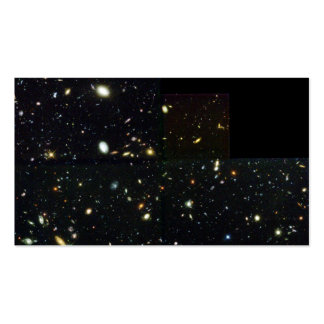 Hubble Deep Field Image at Full Resolution Business Card Template