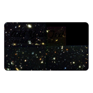 Hubble Deep Field Image at Full Resolution Business Cards