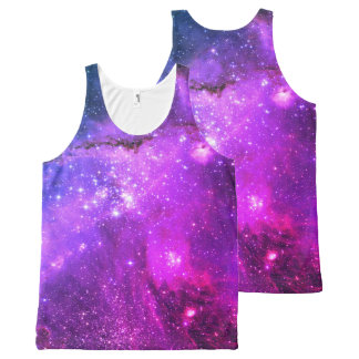 HUBBLE DEEP SPACE ASTROPHOTO- UNISEX TANK All-Over PRINT TANK TOP