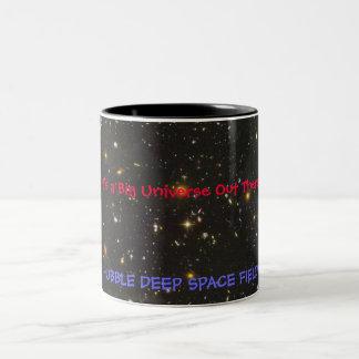 HUBBLE DEEP SPACE FIELD Two-Tone COFFEE MUG