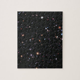 Hubble eXtreme Deep Field Puzzle