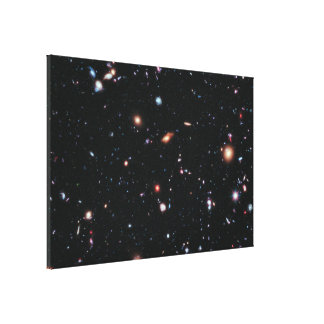 Hubble eXtreme Deep Field (XDF) Gallery Wrapped Canvas