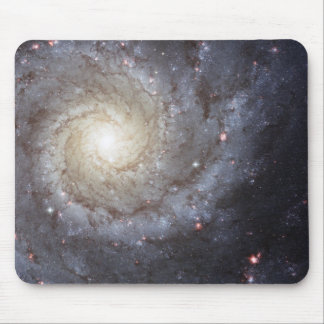"Hubble ""grand design spiral galaxy M74 "" space Mouse Mat"