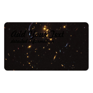 Hubble Image of Galaxy Cluster RCS2 Pack Of Standard Business Cards