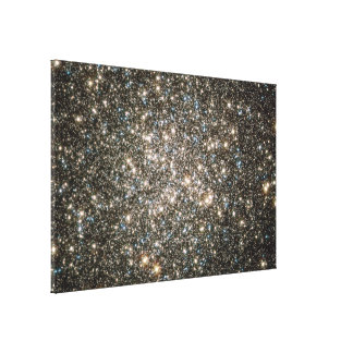 Hubble Image of M13's Nucleus Stretched Canvas Prints
