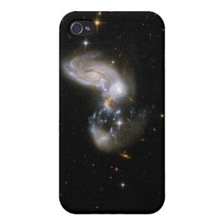 Hubble Interacting Galaxy II Zw 96 iPhone 4 Cases