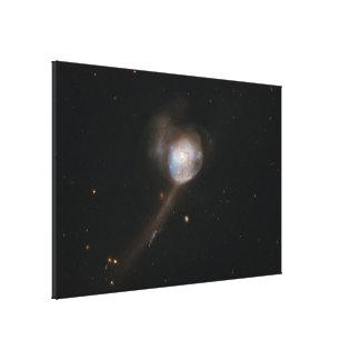 Hubble Interacting Galaxy NGC 17 Canvas Print
