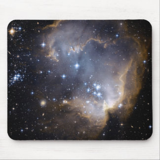 Hubble Observes Infant Stars in Nearby Galaxy Mouse Pad