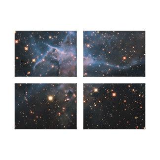 Hubble s Mystic Mountain - Deep Space Canvas Print