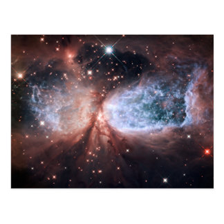 Hubble Snow Angel Postcard