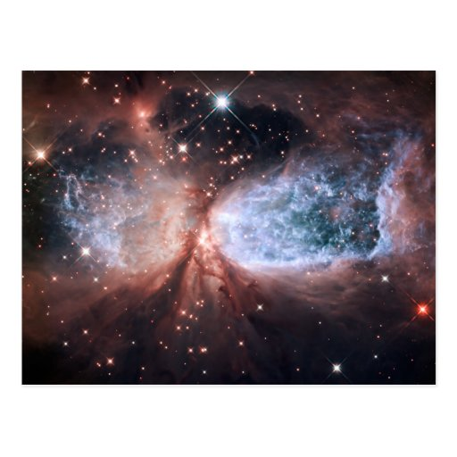 Hubble Snow Angel Post Cards