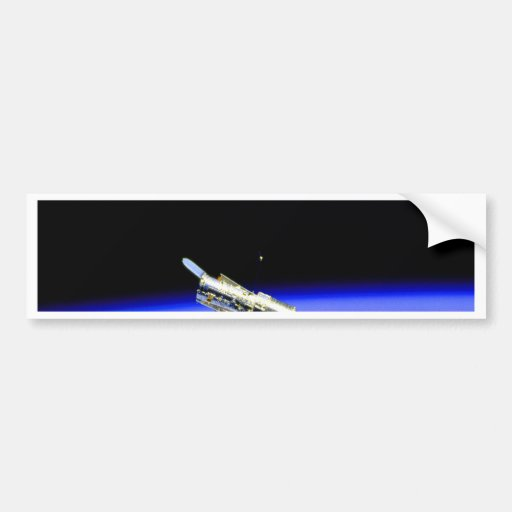 hubble space telescope atmosphere science bumper sticker