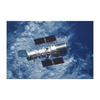 Hubble Space Telescope HST Stretched Canvas Print