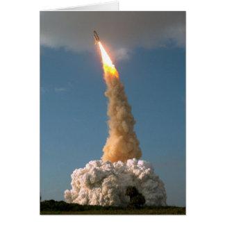 Hubble Space Telescope lift off  NASA Card