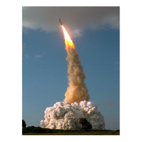 Hubble Space Telescope lift off  NASA Postcard