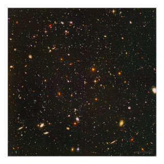 Hubble Ultra Deep Field 24x24 22x22 Print