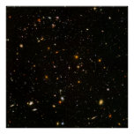 Hubble Ultra Deep Field (HUDF) [Print] Poster