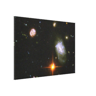 Hubble Ultra Deep Field Image Gallery Wrap Canvas