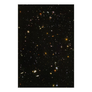 Hubble Ultra Deep Field Photo Poster