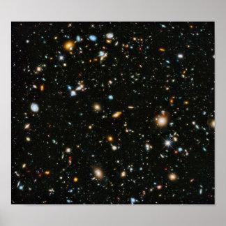 Hubble Ultra Deep Field Poster