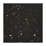 Hubble Ultra Deep Field View of 10,000 Galaxies Canvas Print